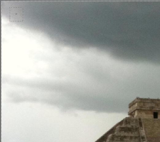 墨西哥玛雅金字塔射出神秘光束(有图有真相)