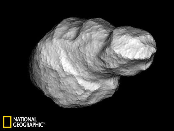 """巨型小行星下周将与地球""""亲密接触"""""""