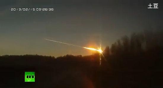 俄罗斯陨石雨造成近400多人受伤 民众误以为战争爆发